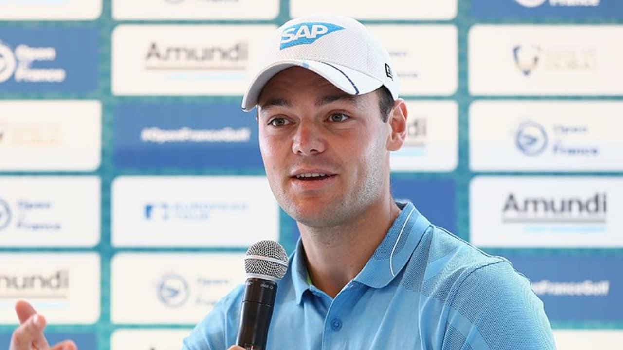 Martin Kaymer Pressekonferenz Open de France