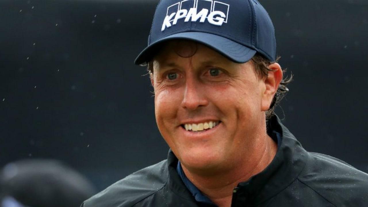 Wie lange lacht Phil Mickelson noch?