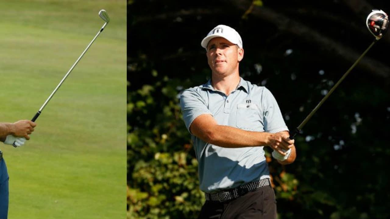 Dustin Johnson (li.) und Luke List (re.) teilen sich die Führung nach dem ersten Tag der RBC Canadian Open. (Foto: Getty)