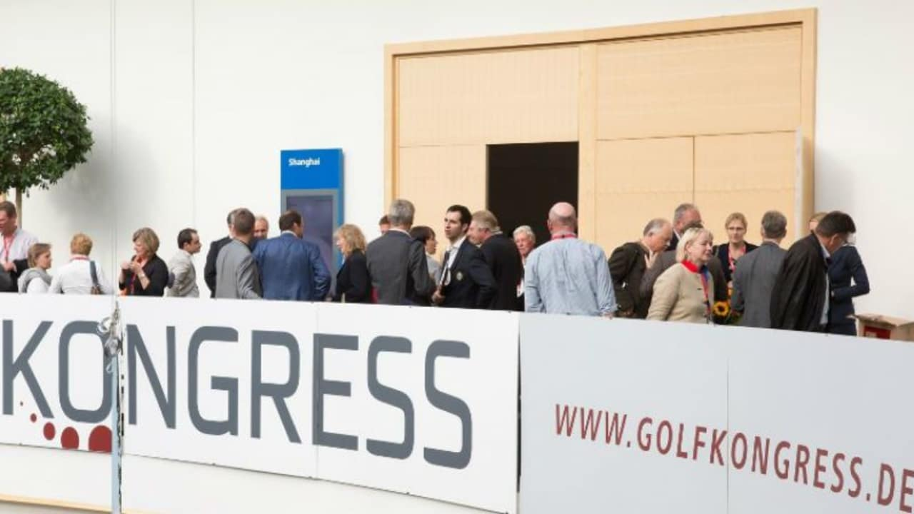 Beim Golfkongress in Nürnberg trifft sich die Branche zum Gedanken- und Ideenaustausch. (Foto: Golfkongress)