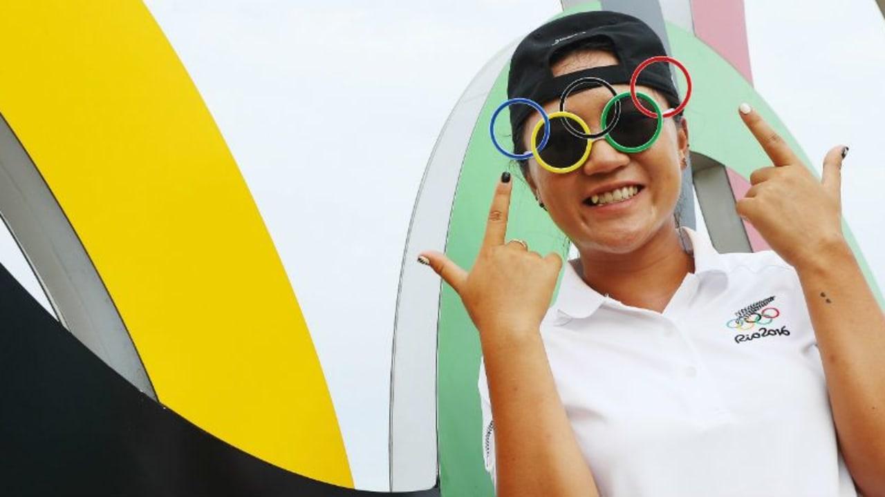 Auch Lydia Ko ist Feuer und Flamme für die Olympischen Spiele. (Foto: Getty)