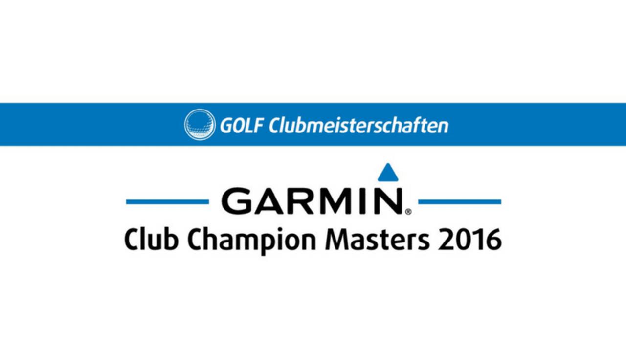 Das GARMIN Club Champion Masters Bundesfinale am 1./2.10. 2016.