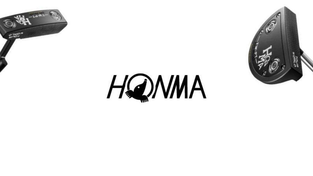 Die neuen Honma TW-PT Putter kommen mit einem etwas ungewohnten aber optisch überzeugenden schwarzen Finish daher. (Foto: Voss Communications)