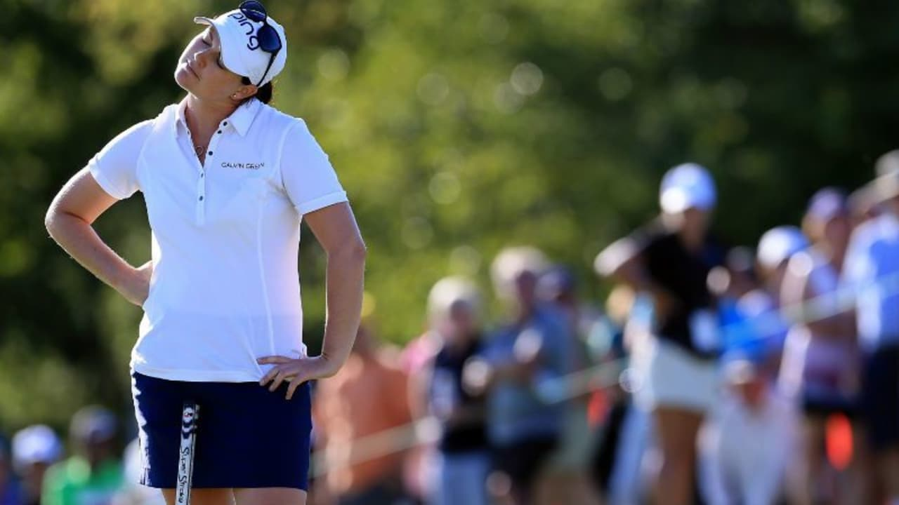 Caroline Masson muss nach dem Auftakt der Reignwod LPGA Classic bereits um den Cut zittern. (Foto: Getty)