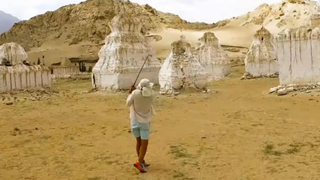 Golfen auf dem höchsten Platz der Welt? Adventures in Golf machen es vor. (Foto: youtube.com/SkratchTV)