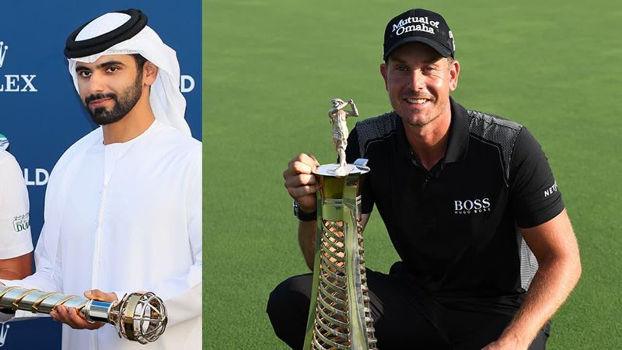 DP World Tour Championship 2016 Race to Dubai Finale Matthew Fitzpatrick Henrik Stenson