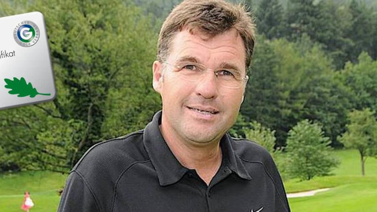 Golf Post traf Dr. Gunther Hardt und tauschte sich mit ihm über das DGV-Programm Golf&Natur aus.