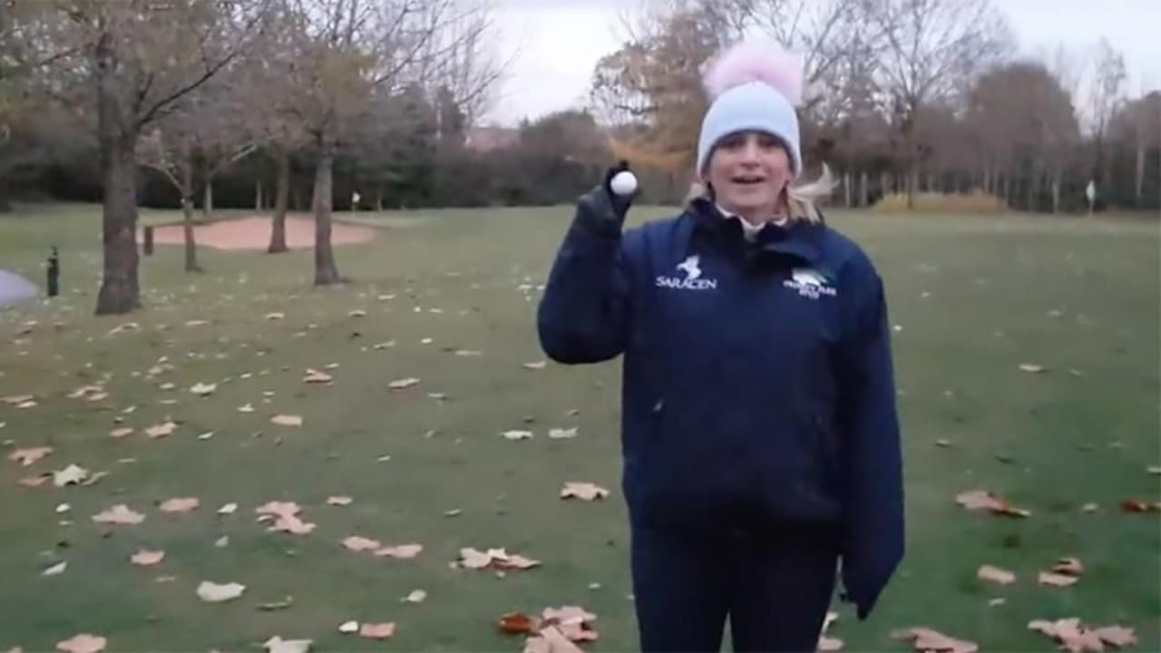 Hole-in-One in erster Golfstunde Golf Video