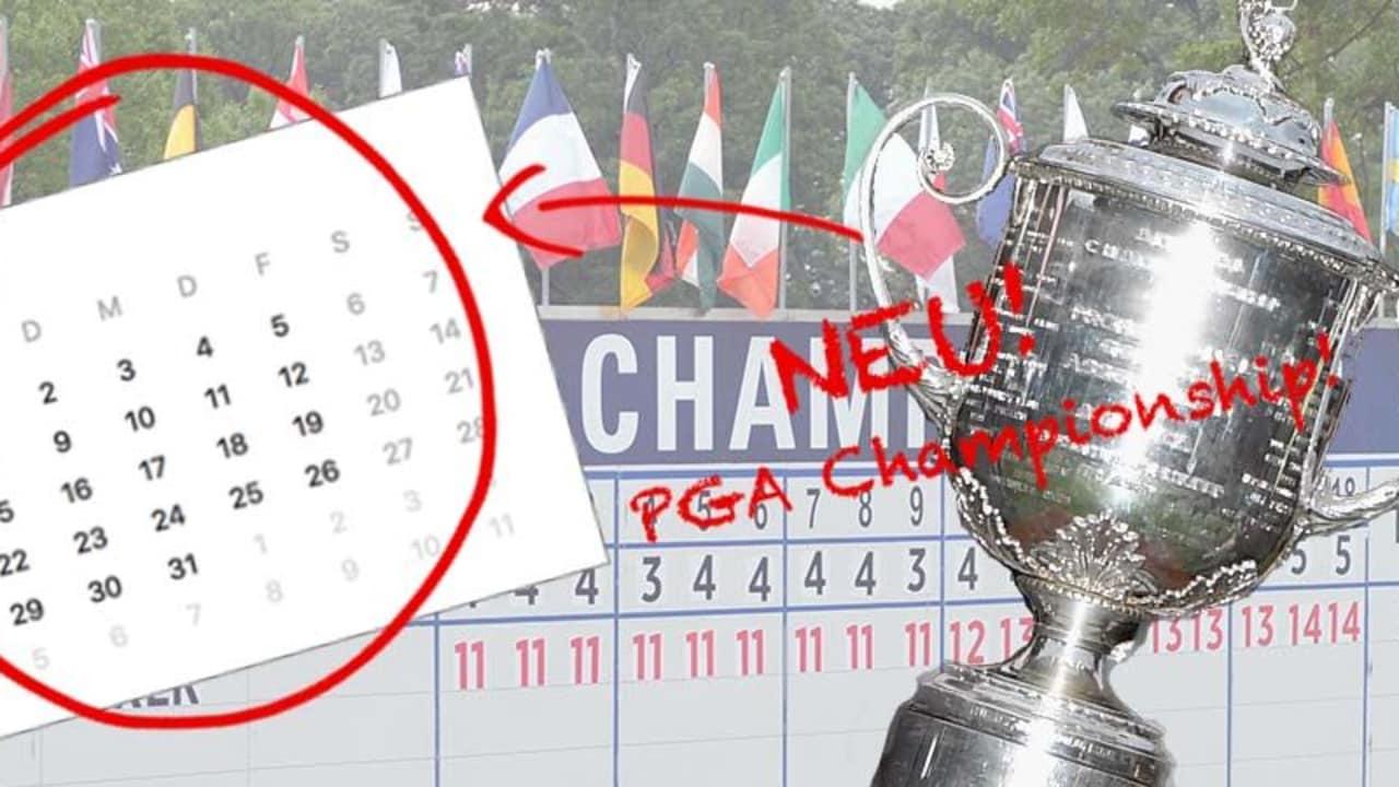 Die Die PGA Championship bekommt möglicherweise im Mai ein neues zu Hause.