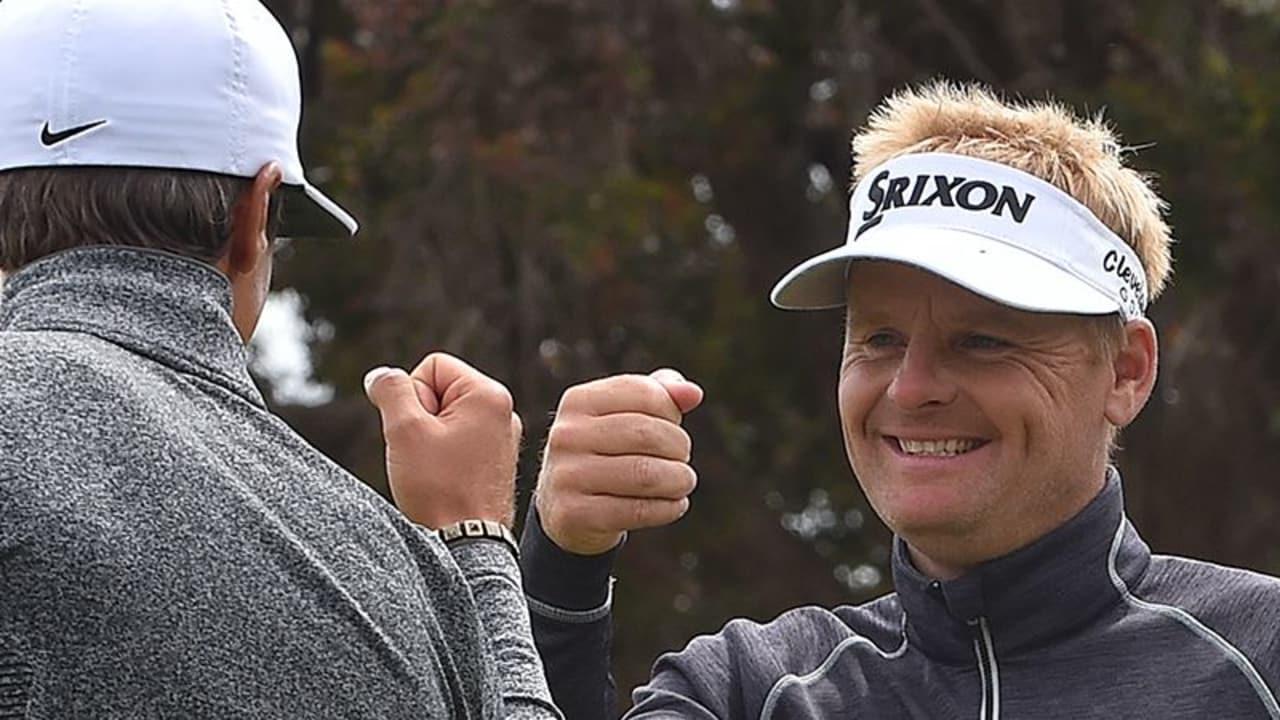World Cup of Golf 2016 Moving Day Team Daenemark Soren Kjeldsen Thorbjorn Olesen