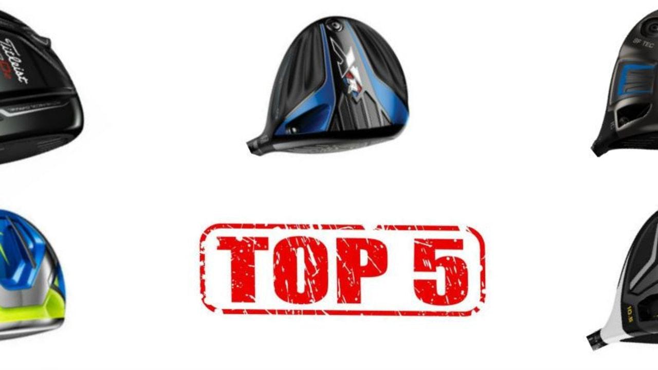 Die Top 5 2016 stehen fest. Das waren die besten Driver in der vergangenen Saison. (Foto: Callaway/TaylorMade/Nike/Ping/Titleist)