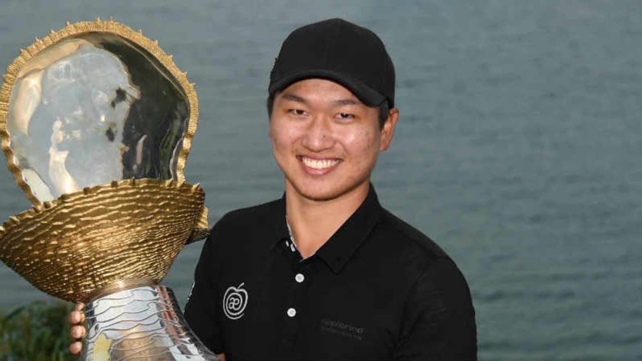Jeunghun Wang mit der