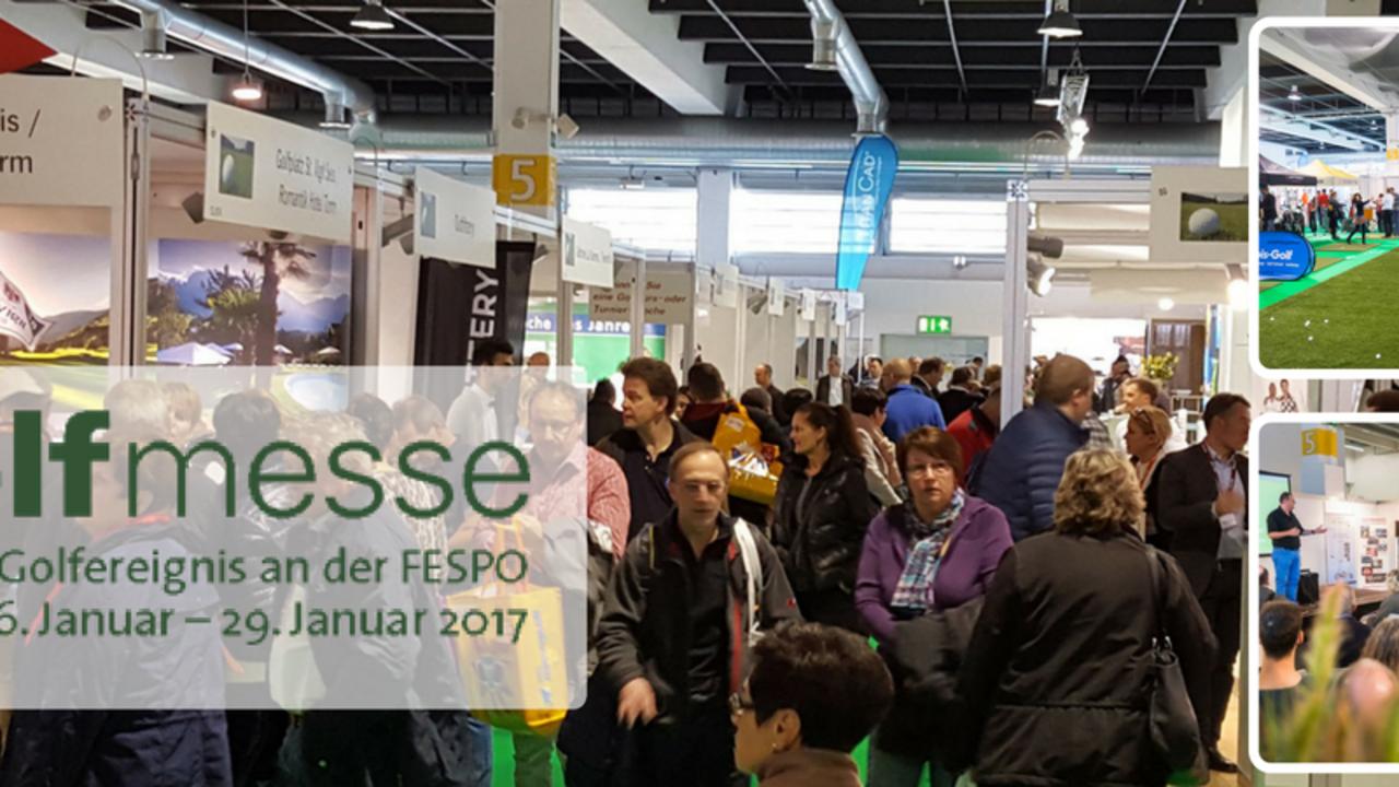 """Vom 26. bis 29. Januar 2017 findet in Zürich Oerlikon die Golfmesse als """"das Golfereignis an der FESPO"""" statt. (Foto: Golfmesse Zürich)"""