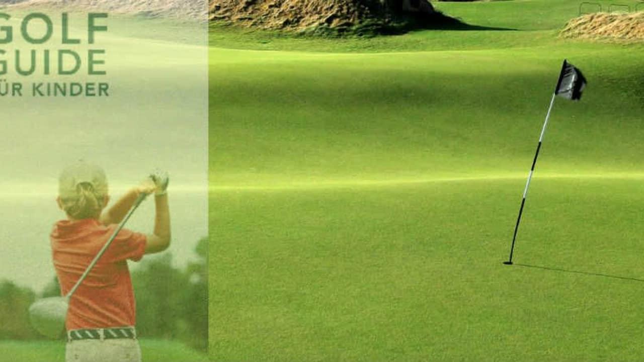 Der Kindergolf Guide gibt wertvolle Tipps, wie auch die Kleinsten Spaß auf dem Platz haben (Foto: Getty / Grafik: Cover Golf Guide für Kinder)