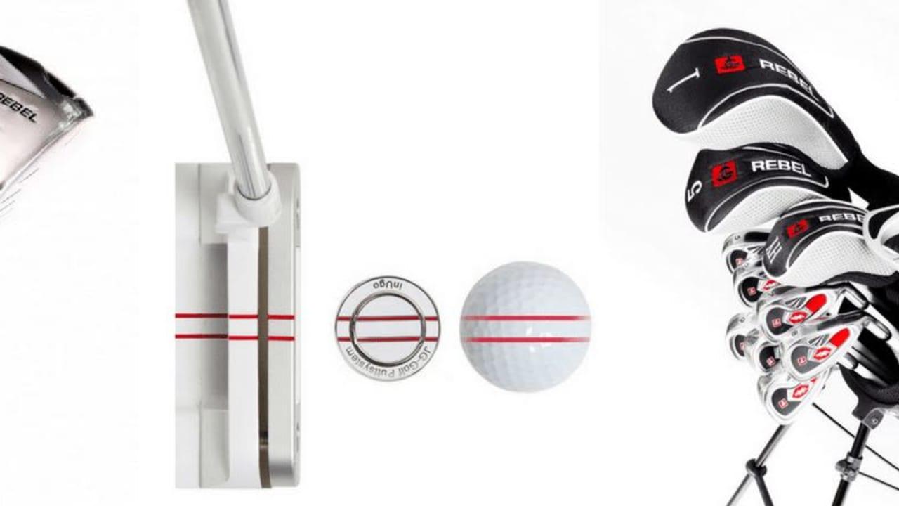 Die Rebel Einsteigersets und die InUgo Putter sind die Kassenschlager bei Jordan Golf. (Foto: Jordan Golf)