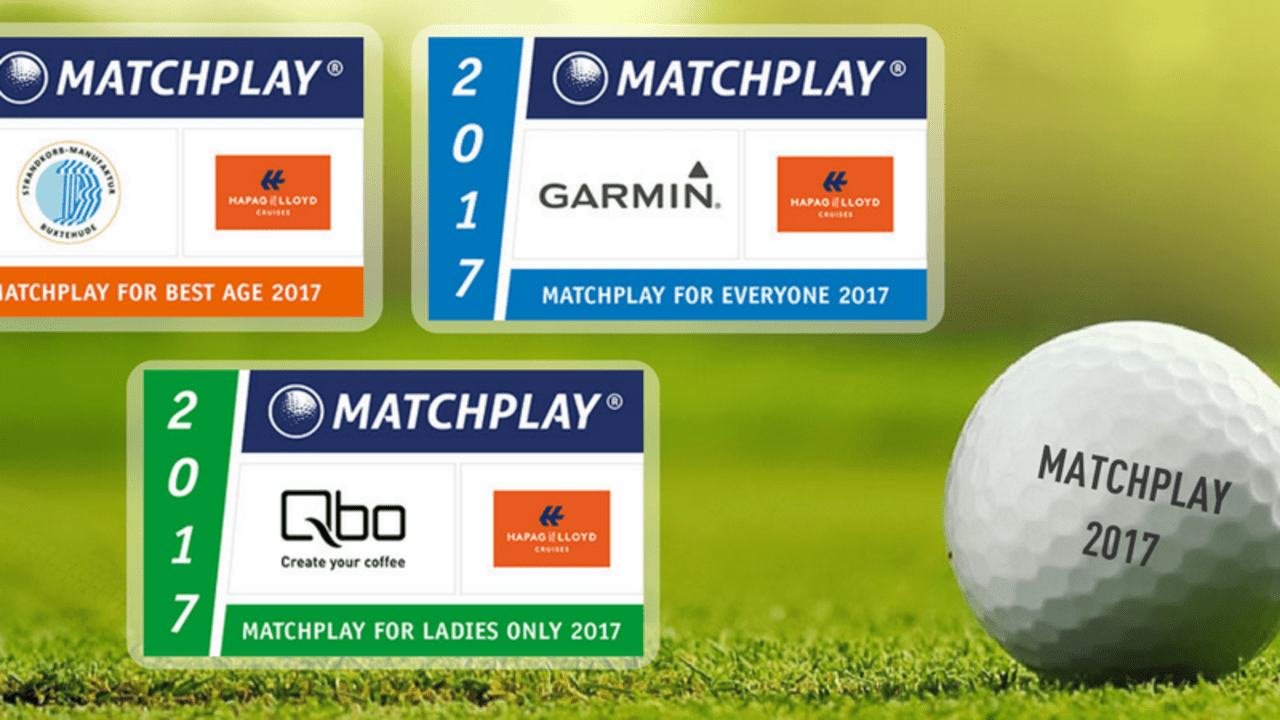 Matchplay-Serie 2017: Bald geht es los. (Foto: Golf Marketing GmbH)