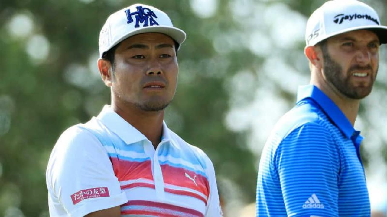 Dustin Johnson hatte im Halbfinale des WGC - Dell Technologies Match Play keine leichte Aufgabe gegen Hideto Tanihara. (Foto: Getty)
