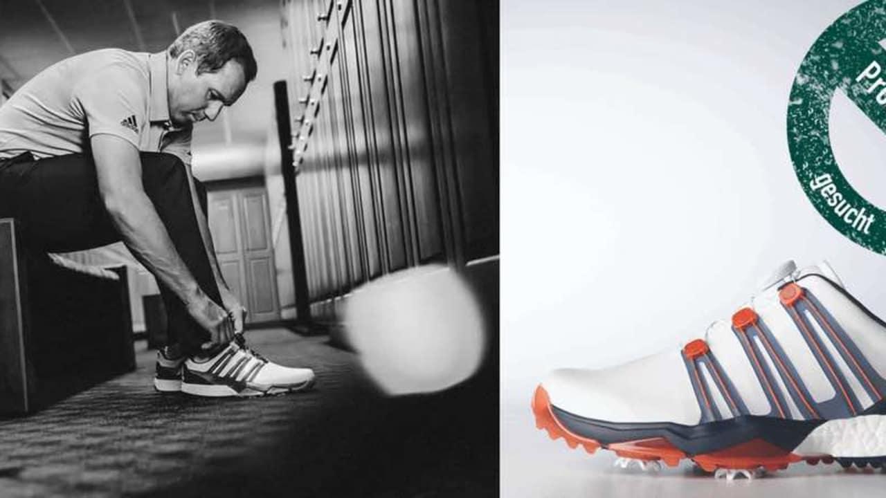 Jetzt als Produkttester bewerben und den neuen Adidas-Schuh des Masters-Siegers Sergio Garcia testen. (Foto: Adidas)