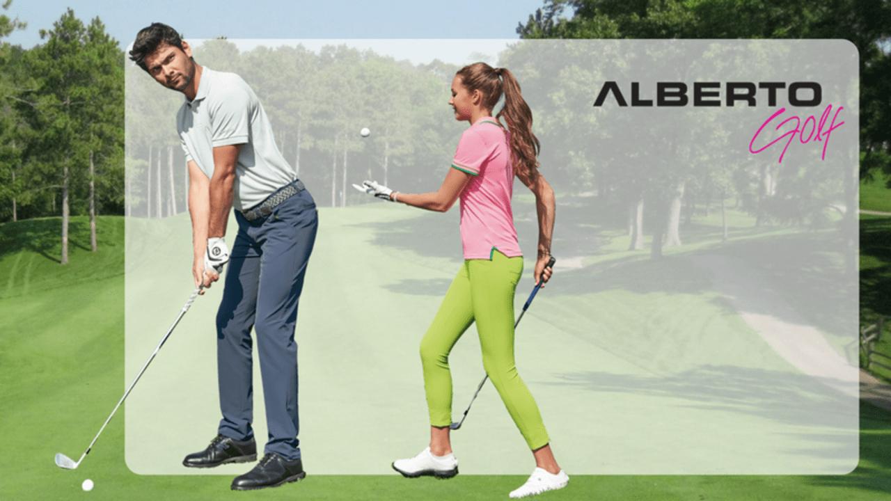 Cooler geht's nicht als mit der Alberto Superfit Cooler Kollektion. (Foto: Golf Post)