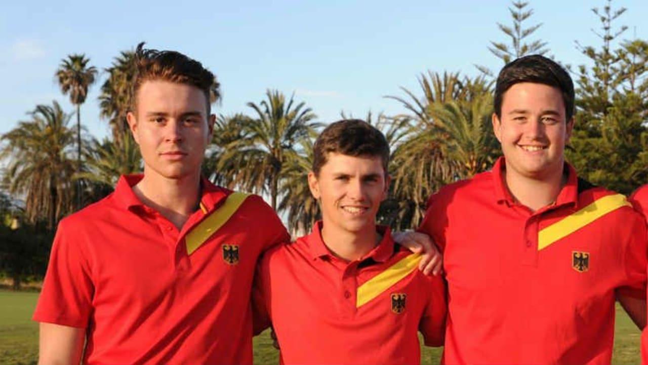 Belegte den sechsten Platz bei der European Nations Championship: Das deutsche Herrenteam. (Foto: DGV)