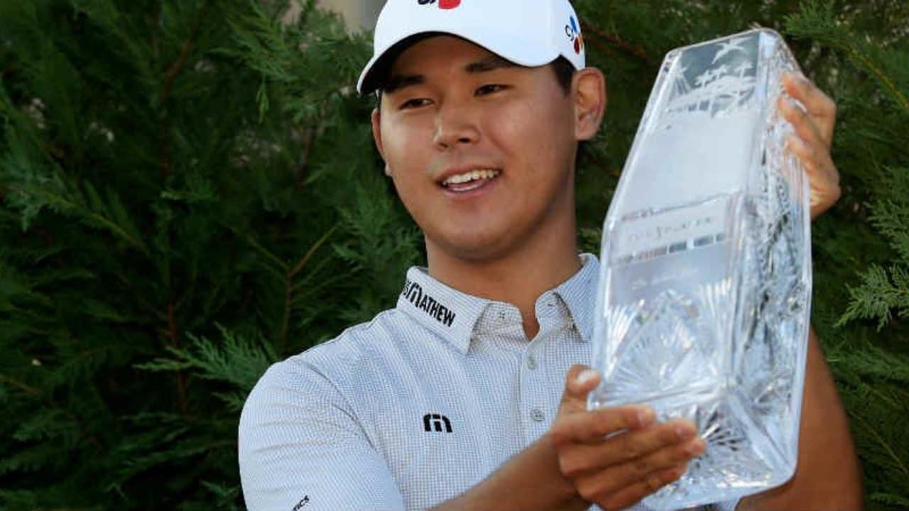 Si Woo Kim gewinnt als jüngter Spieler die Players Championship. (Foto: Getty)