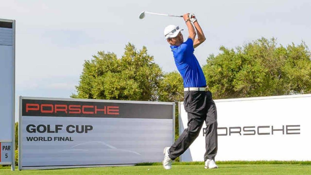 Renato Song gewann die Einzelwertung des Porsche Golf Cup World Finals. (Foto: Porsche)