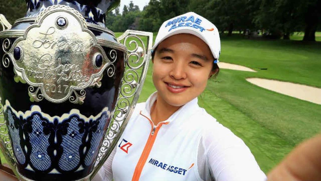 Sei Young Kim aus Südkorea kürte sich beim Lorena Ochoa Match Play in Mexiko zur strahlenden Siegerin.
