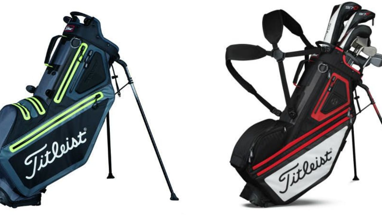 Das StayDry und 14er Modell der Titleist Players Collection. (Foto: Titleist)