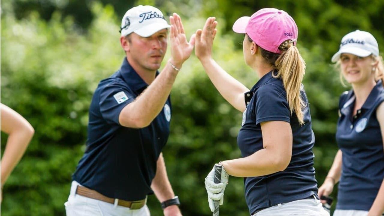 Ein eingespieltes Team: Trainer Christian Lanfermann und Hendrika Labsch vom Hamburger GC (Foto: DGV/tiess)