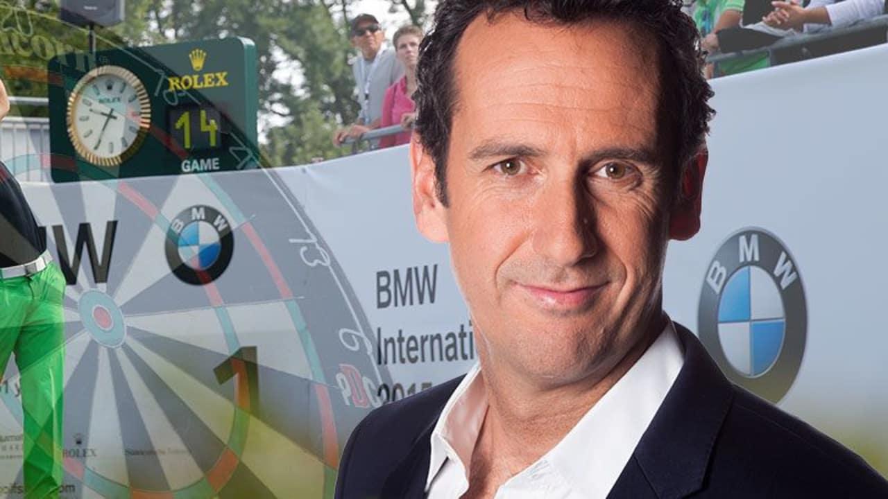 Elmar Paulke ist die Stimme des Darts in Deutschland, kommentiert für SPORT1 aber auch Golf bei der BMW International Open.