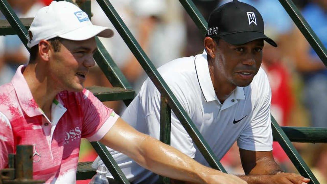 Martin Kaymer steht Tiger Woods in einer schweren Zeit zur Seite. (Foto: Getty)
