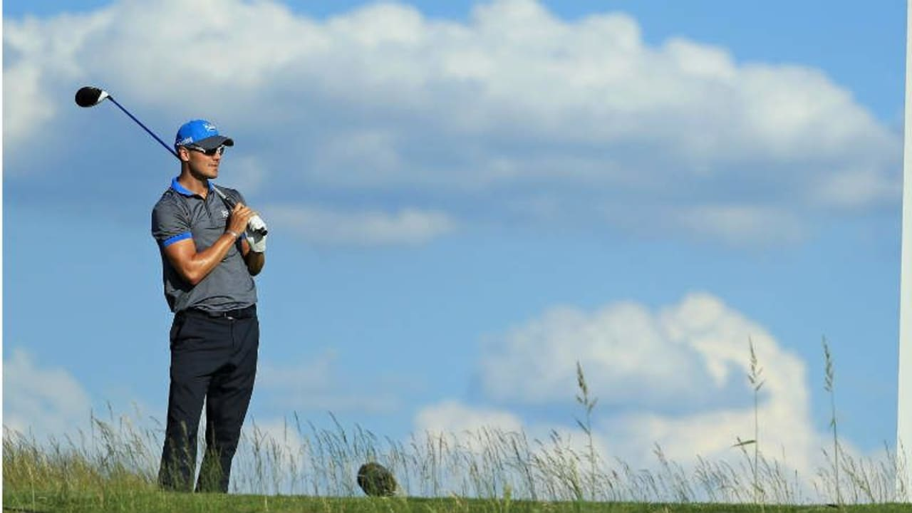 Martin Kaymer fühlte sich am zweiten Tag der US Open äußerst wohl auf dem Platz in Erin Hills. (Foto: Getty)