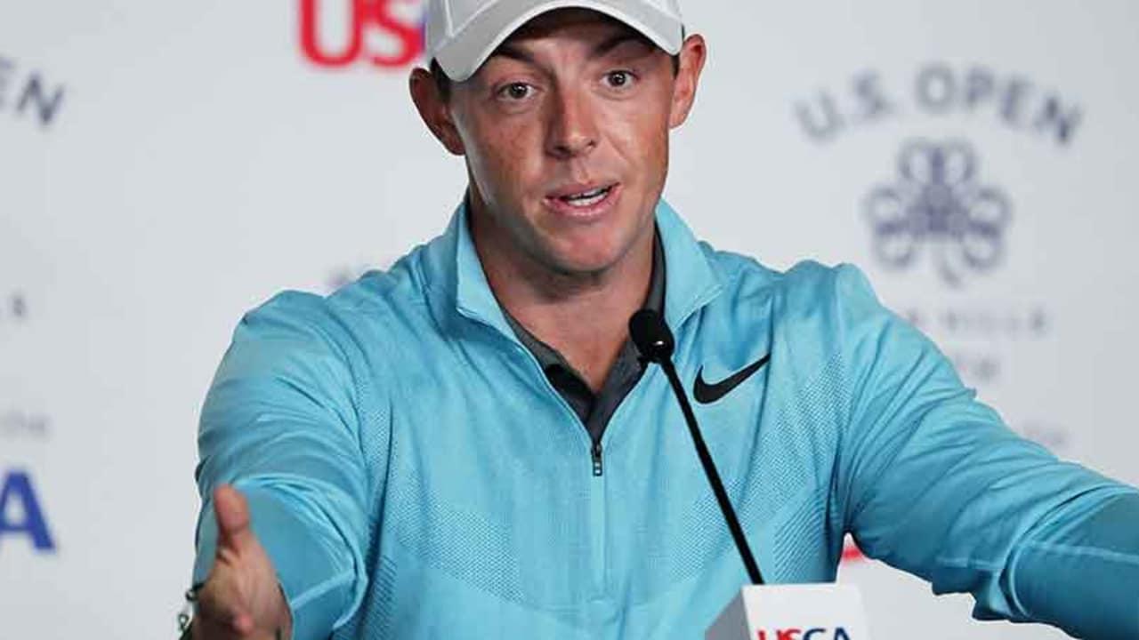 Rory McIlroy findet die Kritik am Rough bei der US Open 2017 in Erin Hills übertrieben. (Foto: Getty)