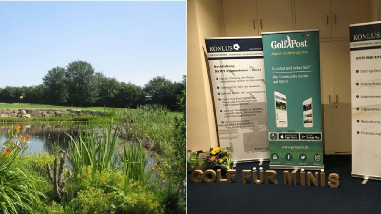 Golf Post ließ es sich nicht nehmen und nahm ebenfalls am Konlus Berg-Cup im Golfclub Kürten teil. (Foto: Golf Post)