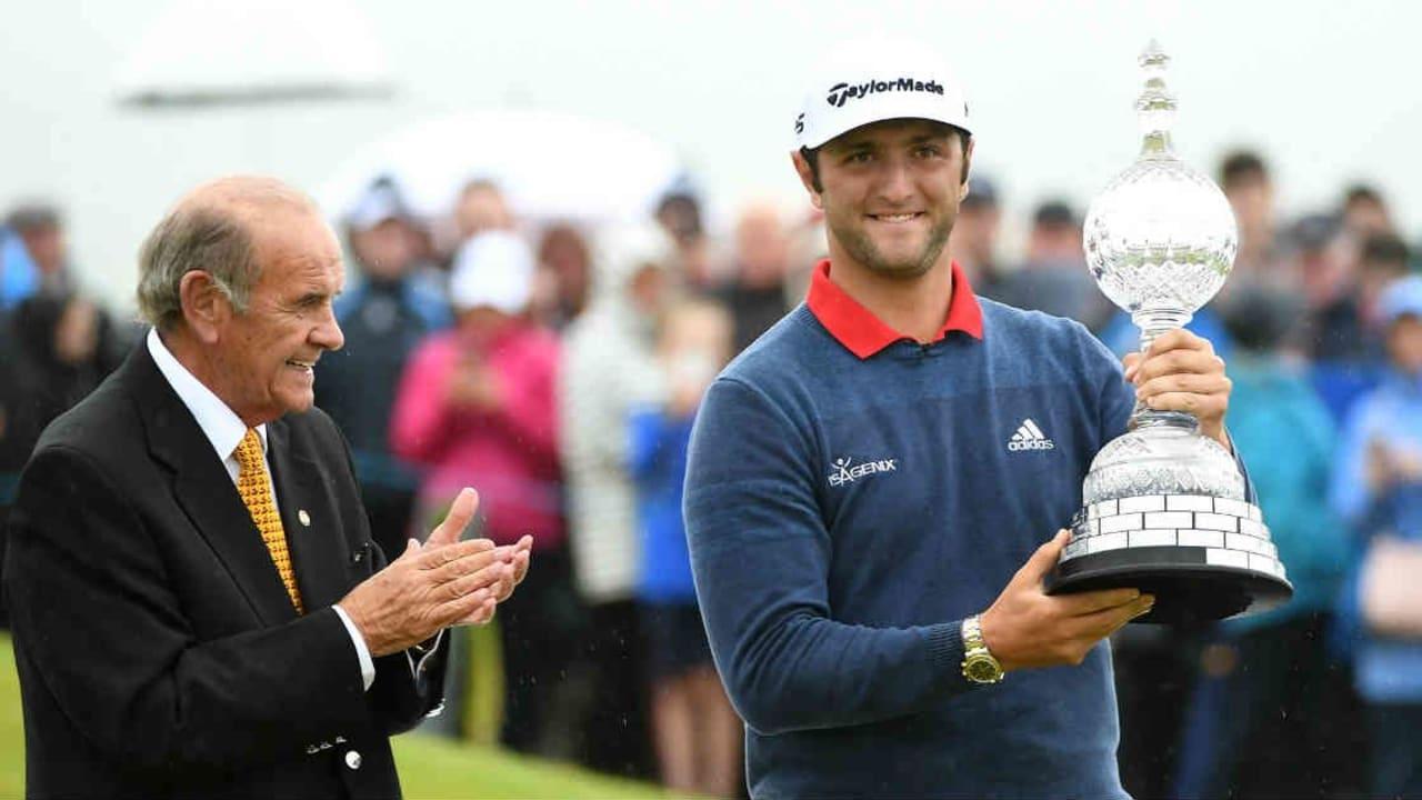 Mit einer eindrucksvollen Abschlussrunde siegte Jon Rahm bei der Irish Open. (Foto: Getty)