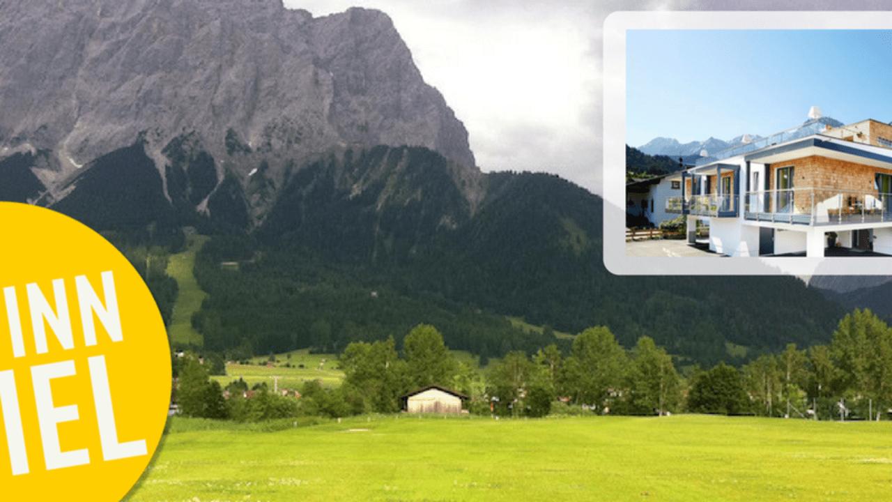 Golf Post verlost zwei Übernachtungen im apartment S am Fuße der Zugspitze inklusive zwei Tages-Greenfees für zwei Personen. (Foto: apartment S)