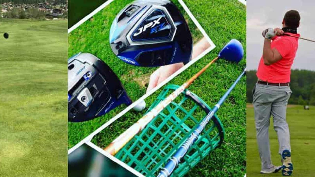 Die vier Golf Post Tester verlangten dem Mizuno JPX900 Driver alles ab. (Foto: Maike Mauermann/Tobi Grotefeld)