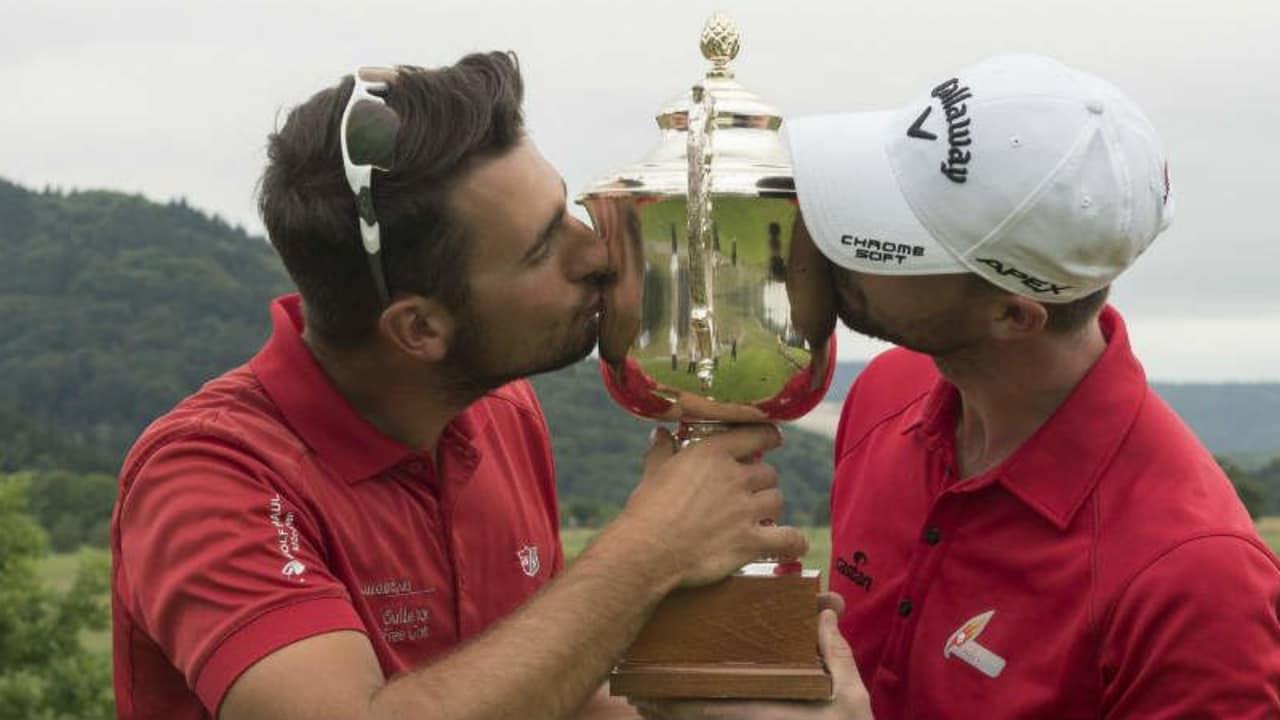 Patrick Kopp und Benedict Staben gewinnen Deutsche Vierermeisterschaft - Ohne es zu wissen. (Foto: PGA of Germany e.V.)