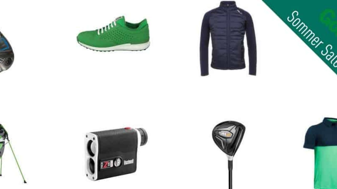 GolfHouse bietet zahlreiche Produkte im Sommer Sale an. (Foto: GolfHouse)