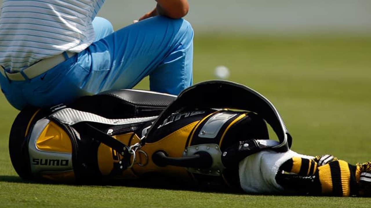 Golfbag Geschichte Tragebag Trolley Reisecover
