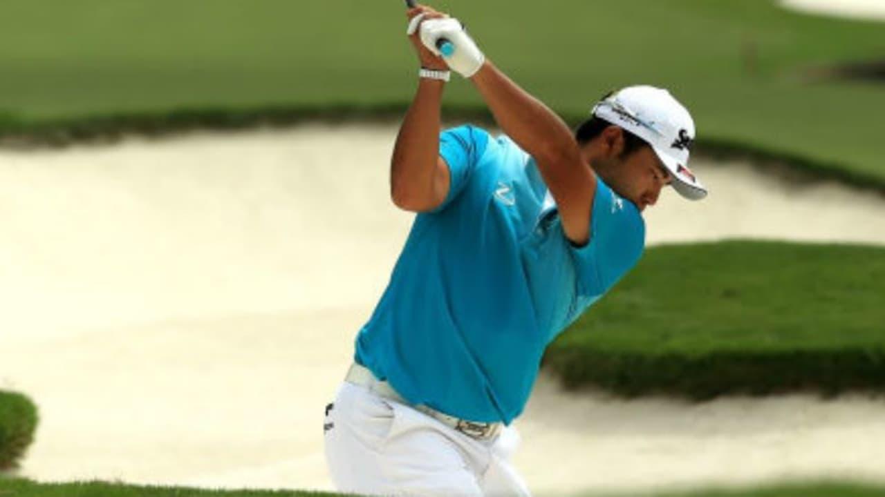 Hideki Matsuyama überzeugt bei der PGA Championship 2017 mit der besten Runde des Tages. (Foto: Getty)