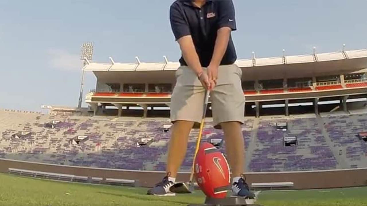 Folf Golf Video American Football Golf