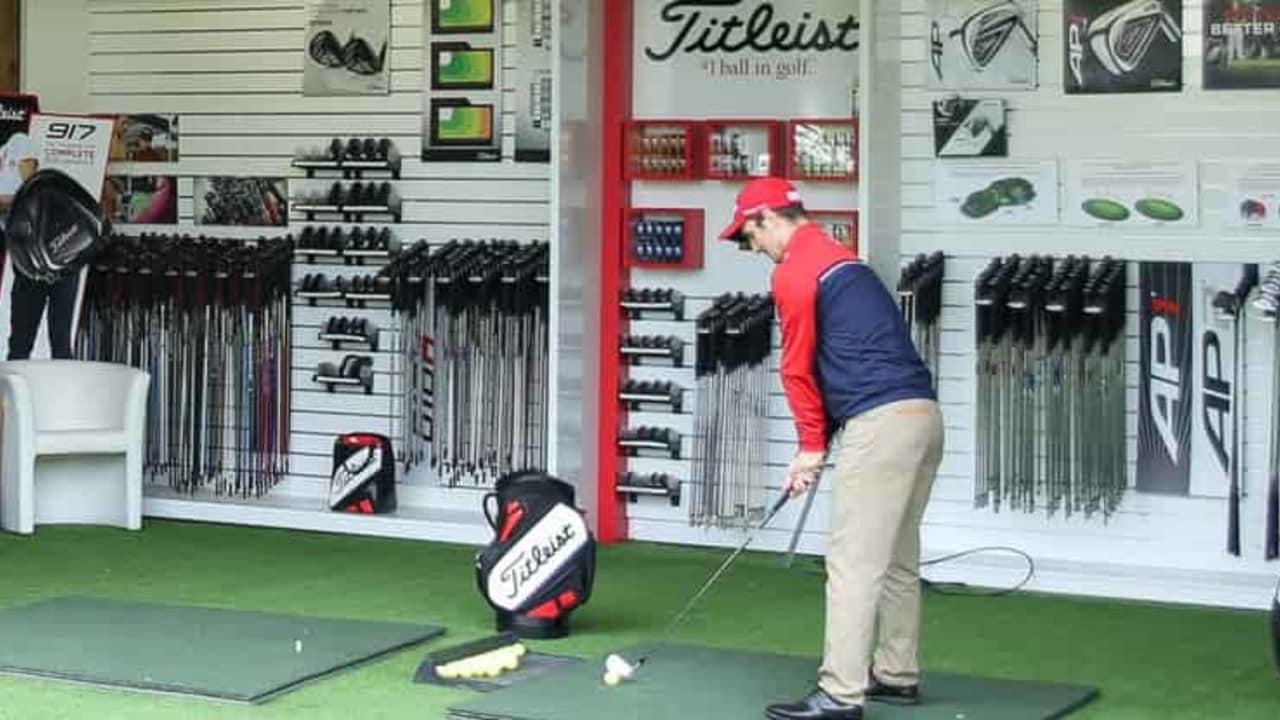 Im Golfclub Am Alten Fliess hat sich Golf Post Redakteur Robin Bulitz vom