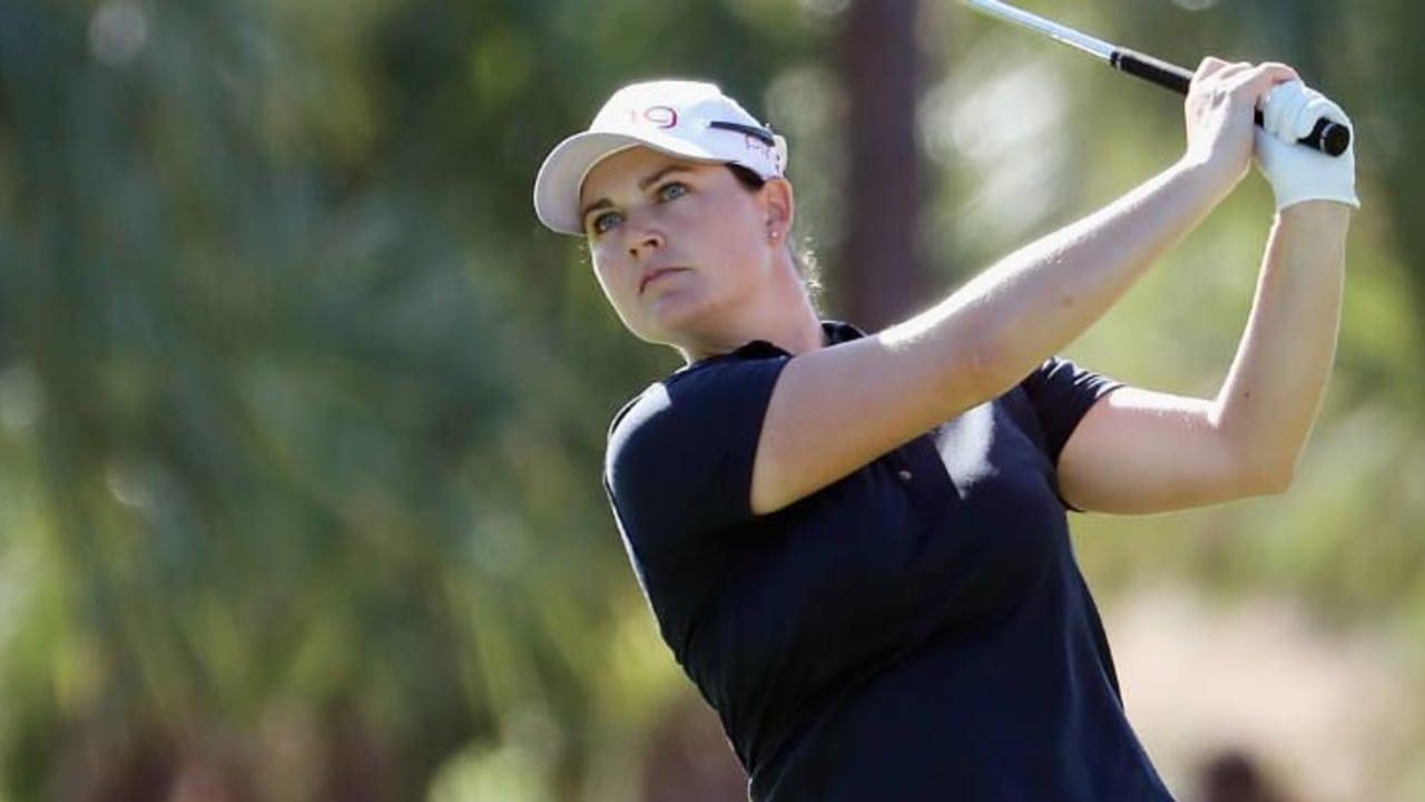Caroline Masson richtet die Augen auf den Titel bei der CME Group Tour Championship. (Foto: Getty)