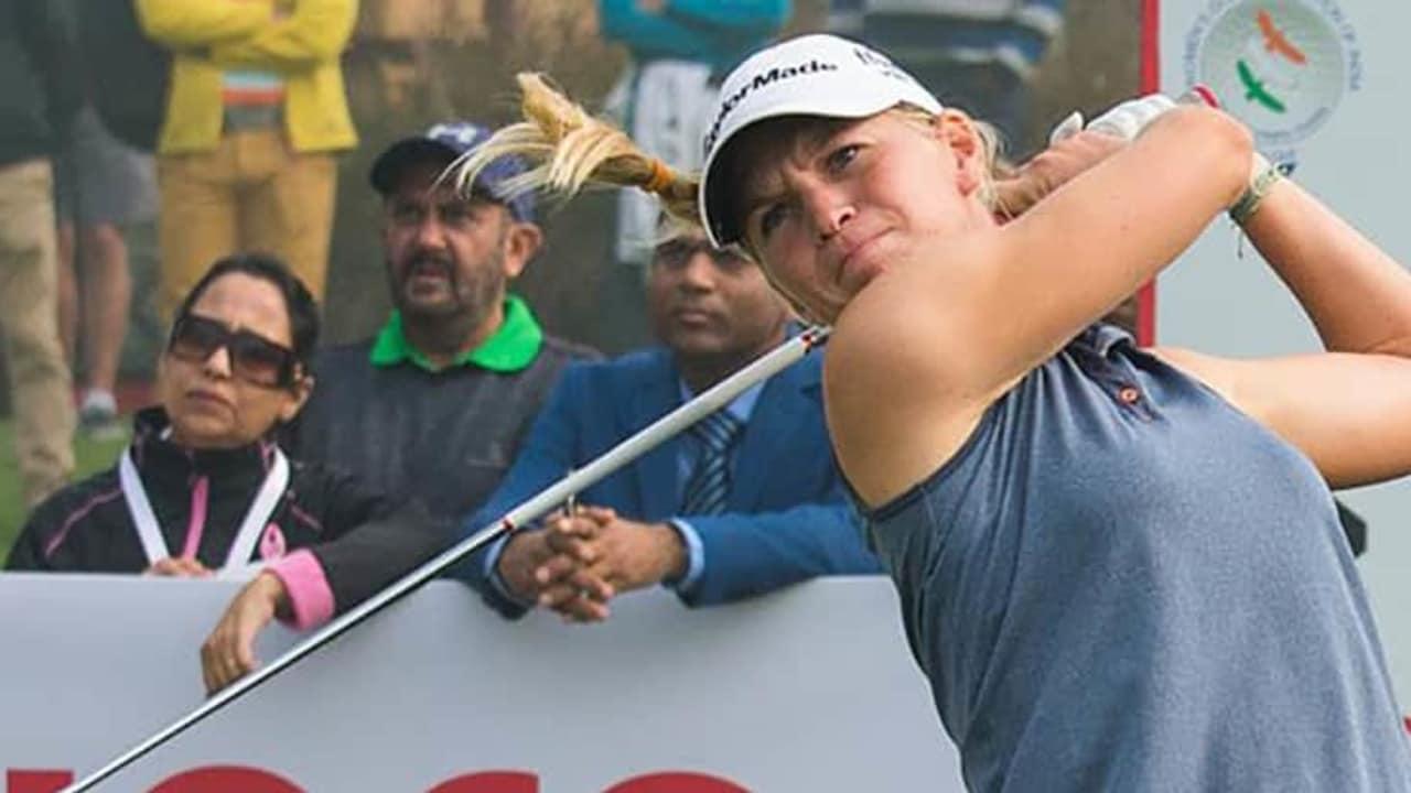 Die Französin Camille Chevalier gewinnt die Hero Women's Indian Open in ihrer ersten Saison als Profi. (Foto: LET/Twitter)