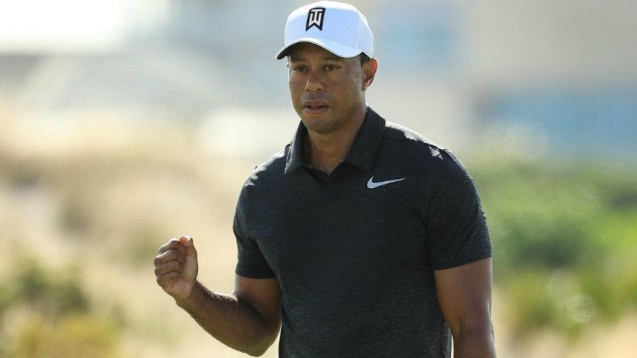 Mit einem starken Auftritt meldet sich Tiger Woods eindrucksvoll bei der Hero World Challenge zurück. (Foto: Getty)