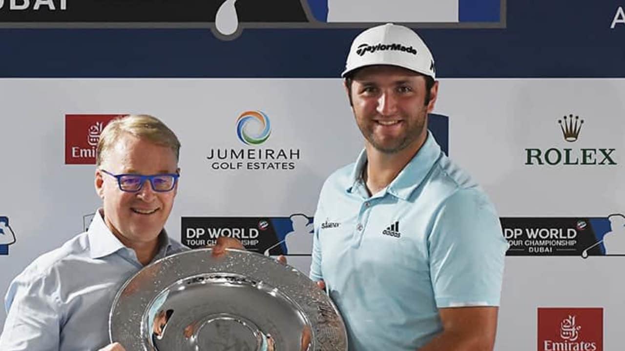 Als Vierter im Race to Dubai und Fünfter in der Weltrangliste ist der Spanier Jon Rahm zurecht zum Rookie of the Year gekürt worden. (Foto: Getty)