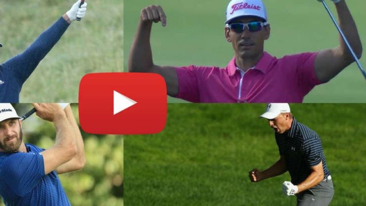 Das Jahr 2017 bot uns wieder großartige Golfschläge - wir haben die Besten zusammengestellt. (Foto: Getty/Youtube)