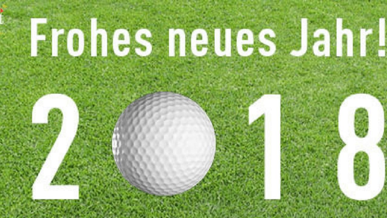 Golf Post wünscht Ihnen ein frohes neues Jahr 2018