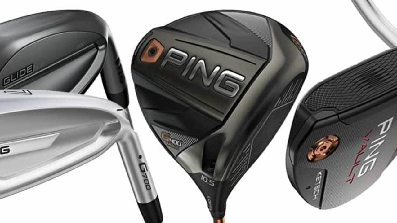 Ping Golf 2018 Neuerscheinungen G400 Max Driver G700 Eisen Glide 2.0 Stealth Wedges Vault 2.0 Putter